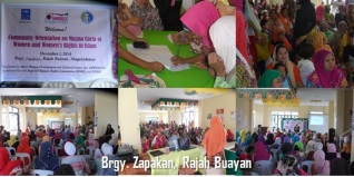 Community Orientation_Zapakan