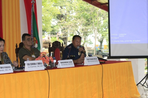 Peace Dialogue with Security Sectors